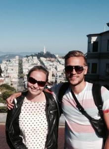 Annika & Philip i San Francisco 2014