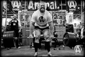 Powerlifter - clenching