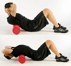 Thorasic extension med foamroller